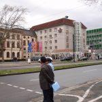 フランクフルト空港への直通バスが便利なホテル クラウンプラザハイデルベルク ラウンジ情報あり