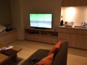 ソファとテレビ