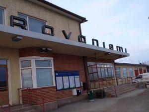 ロバニエミ駅舎