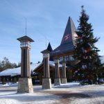 サンタクロース村 フィンランド 北極圏でサンタクロースと記念撮影