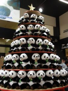 パンダクリスマスツリー