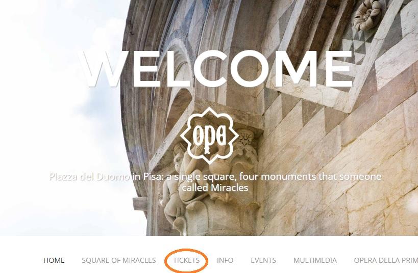 ピサの斜塔公式サイト