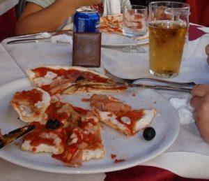 ピサでピザ
