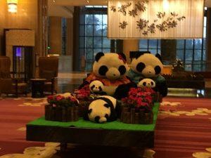 パンダガーデンホテルのパンダ