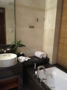 成都空港ホテルバスルーム