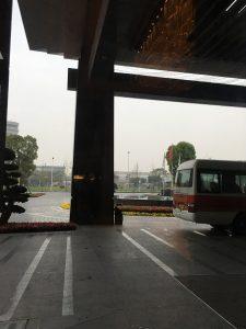 成都空港ホテル送迎バス
