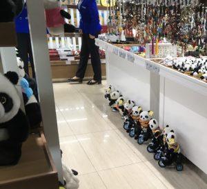 成都空港パンダ自転車