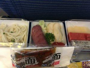 成都成田機内食