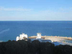 南紀白浜マリオット部屋からの眺め
