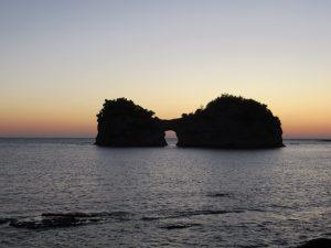 南紀白浜円月島