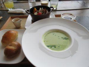 椿サロン 朝食洋食