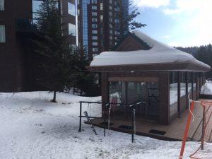 リゾナーレ スキーセンター出入り口