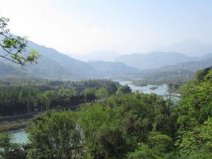 都江堰景区山々