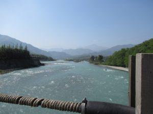 都江堰景区川の流れ