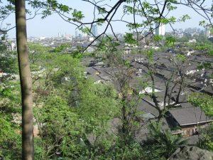 都江堰景区古い家