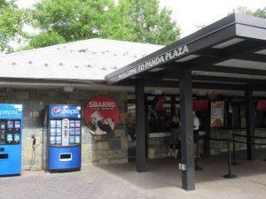 スミソニアン動物園パンダカフェ