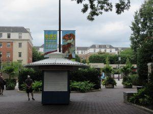 スミソニアン動物園入口