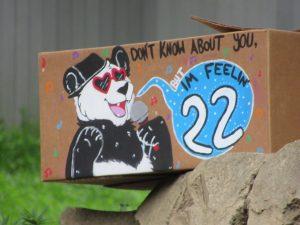 スミソニアン動物園パンダプレゼント