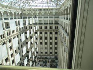 ワシントン旧郵政省時計塔エレベーター