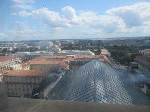 郵政省時計塔展望台からの景色