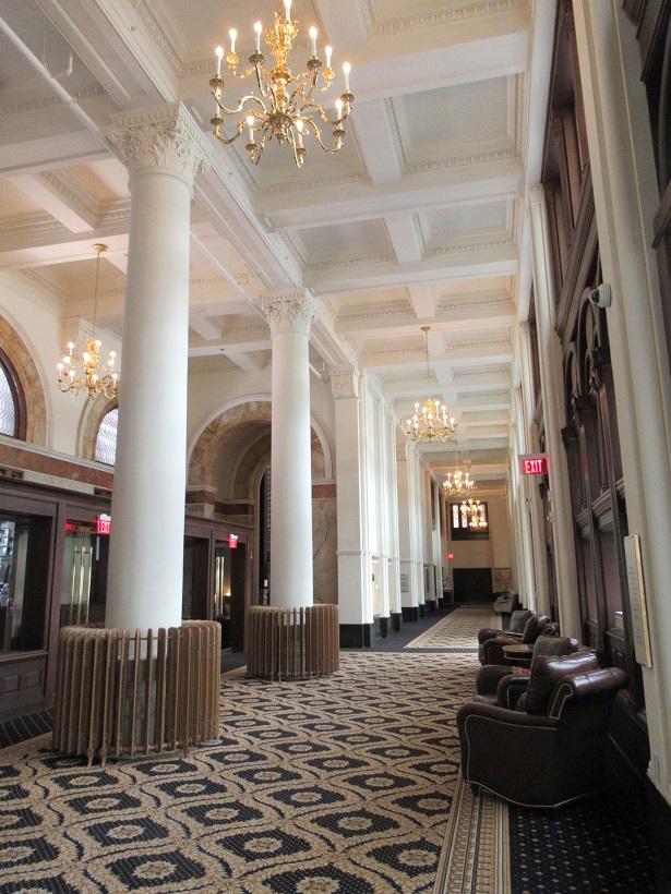 トランプインターナショナルホテルワシントン内部