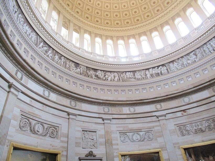 アメリカ国会議事堂ロタンダ
