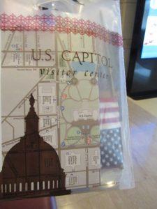 アメリカ国会議事堂ショップ袋