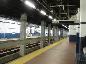 フィラデルフィア駅のホーム