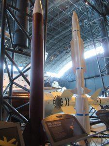 ウドバーハジーセンターミサイル展示