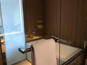 ヒルトン名古屋プレミアムルームのお風呂